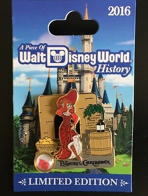 DISNEY PIN PIECE OF DISNEY HISTORY Pirate of the Caribbean The Redhead