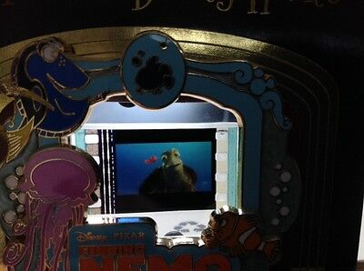 Disney FINDING NEMO Piece of History Movie Cell Features CRUSH NEMO  LE pin