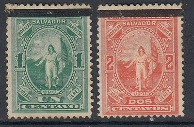 El Salvador Unused Stamps (Obliterator Ovpt)