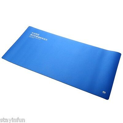 Original XiaoMi XL Mouse Pad Compatible with Keyboard Blue