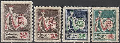 Latvia 1919 First Anniv. Independence