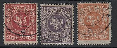 Lithuania 1919 First Berlin Issue