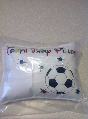NEW Adorable TOOTH FAIRY PILLOW for the Soccer Ball Player Lover