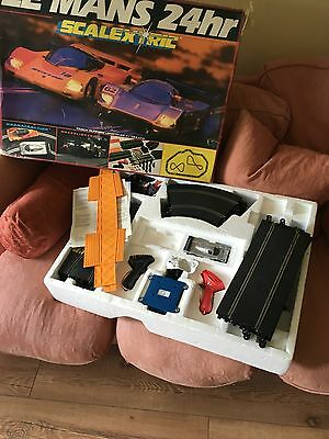 Scalextric Digital Le Mans Set plus Starting Gantry and spares