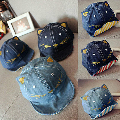 Fashion Baby Kids Baseball Cap Unisex Boys Girls Children Baby Baseball Cap