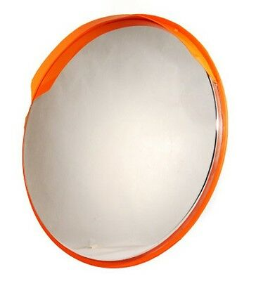 "Stainless Steel Convex Safety Security Mirror 32"" Weather Impact Resistant"