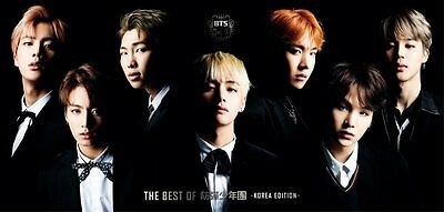BTS THE BEST OF BTS Deluxe Limited Edition KOREA EDITION CD+DVD+Photo set Japan.