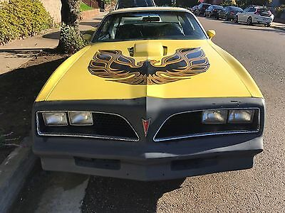 1977 Pontiac Trans Am Coupe 1977 PONTIAC TRANS AM