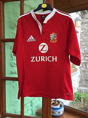 British Lions 2005: rugby shirt, New Zealand, adidas, S, Climacool, Good Cond