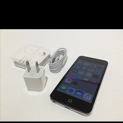 Great iPod Touch 5 Silver and black 16GB
