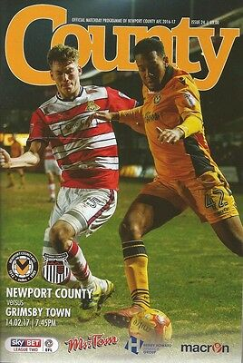 NEWPORT COUNTY v GRIMSBY TOWN 2016/17