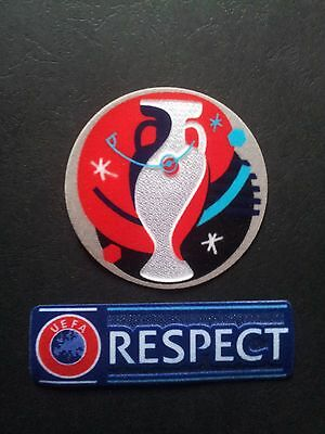2 x Patch Football Uefa Euro 2016