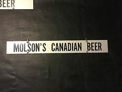 On Draft Today Molson's Canadian Beer Hanger