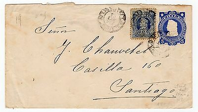 Chile: 1904 Up-Rated Postal Stationery (T330)