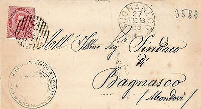 Italy: 1885 Wrapper (T284)