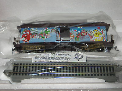 """santa's Little Helpers Baggage Car"" 2009 Hawthorne M&m Holiday Express - Nib"