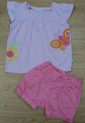 Next Aardvark Baby Girls Bundle Age 18-24 Months Blouse Shorts