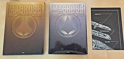 MACROSS The Movie 1984 JAPAN GOLD BOOK w/ POSTER