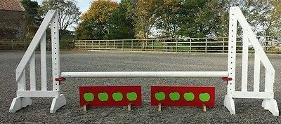 horse jumps , show jumps , fillers , 4 sets of fillers