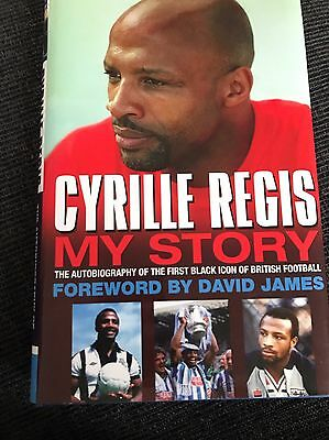 Cyrille Regis - My Story Autobiography Signed