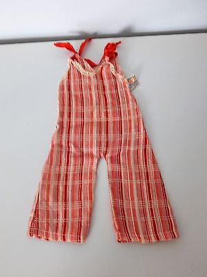 "1930's composition Shirley Temple 17"" doll dress outfit trunk NRA tagged"