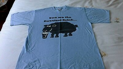 T-shirt Black sheep brewery size small mens