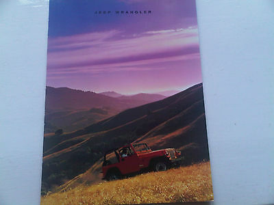 Jeep Wrangler Brochure Early 90s?