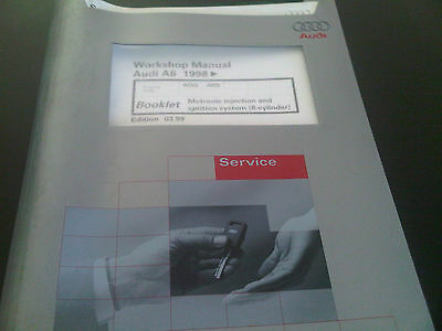 Audi A6 1998 on Workshop Manual motronic injection & ignition system 8 cylinder