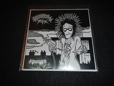 "7"" green vinyl - Cerebral Fix & Selfless  - Fear Me! Music Aaaggghhh 005 2015"