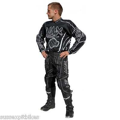 Wulfsport adult max classic motocross race pant  trousers and shirt