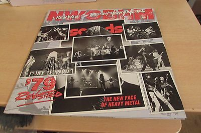 New Wave Of British Heavy Metal '79 Revisited Rare Double Lp Ex/ex