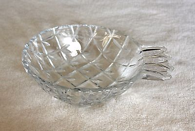 Pretty Hawaiian Pineapple Glass 1941-1970's Soap Dish