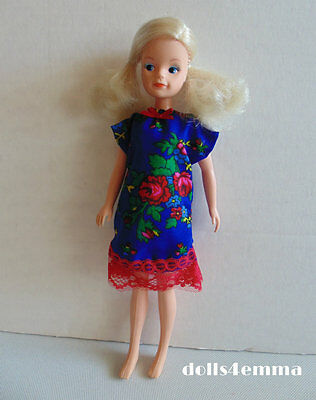 Nightgown Nightie DRESS Handmade Doll Clothes for vintage Sindy Fashion NO DOLL