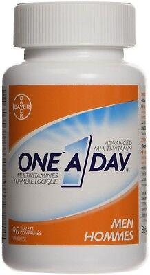 Bayer One A Day Specially Formulated Men Multi-Vitamin Tablet 90 count