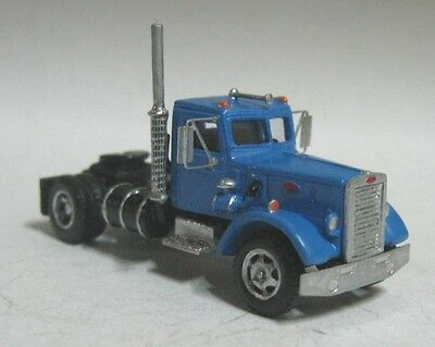 TT scale (1:120) model of American tractor truck Peterbilt 281, without trailer