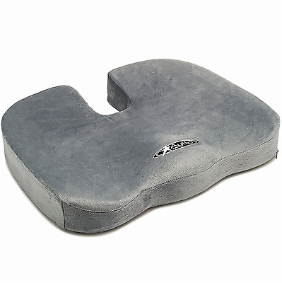 coccyx seat cushion for back pain relief and sciatica office chair car pillow