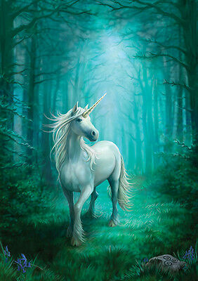 Forest Unicorn Greeting Card - Anne Stokes