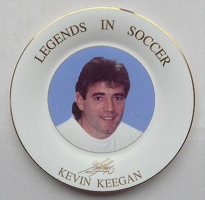 Kevin Keegan Royal Doulton Plate Newcastle Liverpool Legends In Soccer Man City