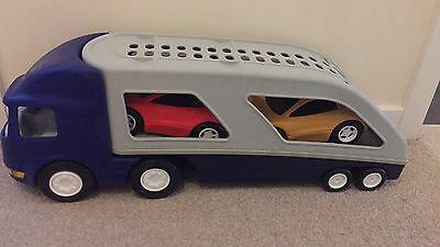 Little Tikes Large Transporter Truck With 2 Cars