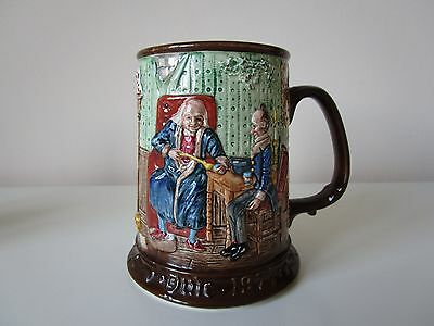 Beswick Yule Tankard 1971-1St In The Collectors Series. Vintage England.