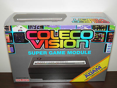 COLECOVISION/ADAM SUPERGAME MODULE with SD wafer drive (factory new)