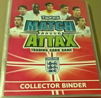 Topps Match Attax Collector Binder And Full Set Of Trading Cards