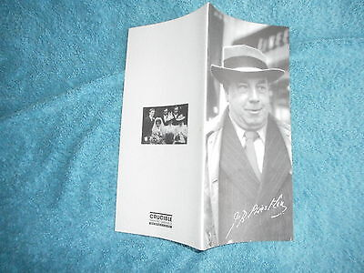 J.b.priestley 1995 Theatre  Programme Crucible Sheffield When We Are Married