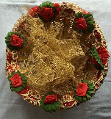 A Nicely Decorated Basket