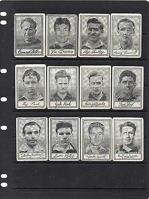 Barratt 1955 Famous Footballers Series A3 - 28 Of Set Of 50 Cards Mix Condition