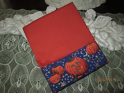 Country Cottage Kids Spooky Halloween Jack-O-Lanterns,moons,stars Pillowcase-New