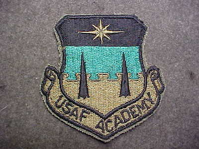 Old Original Us Army Air Corps Academy Shoulder Insignia Patch Usaf