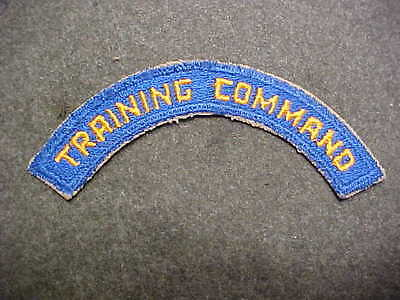 Old Original Ww2 Us Army Air Corps Training Command Shoulder Insignia Patch