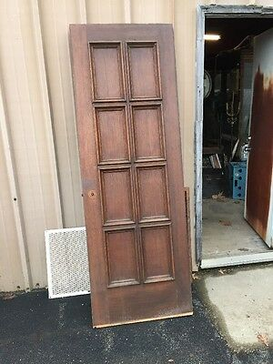Cm 213 Antique Oak Passage Door 27 And Three-Quarter By 80 1/4
