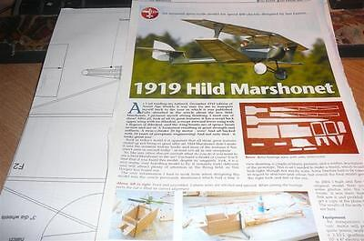 1919 hild marshonet plan and build article